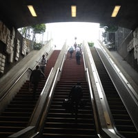 Photo taken at 24th St. Mission BART Station by Shane C. on 7/16/2012