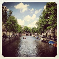 Photo taken at Prinsengracht by Ria B. on 6/17/2012