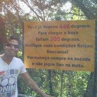 Photo taken at Escada da Perna Bamba by Alan R. on 4/18/2012