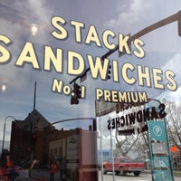 Photo taken at Stacks Sandwiches by Miss Magpie on 4/11/2012