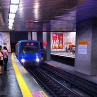 Photo taken at MetrôRio - Estação Uruguaiana by Marcelo B. on 8/13/2012