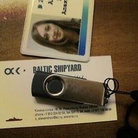 Photo taken at Baltic Shipyard by Ксения А. on 8/29/2012