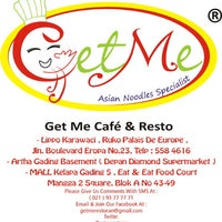 Photo taken at GetMe Cafe & Resto by Getme Cafe & Resto A. on 2/13/2012