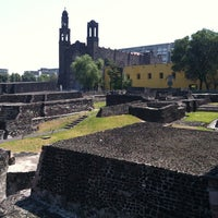 Foto tomada en Zona Arqueológica Tlatelolco por Juan Manuel P. el 3/26/2012