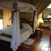 Photo taken at Mbuzi Mawe Tented Camp by Pascal G. on 8/23/2012