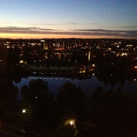 Photo taken at DoubleTree by Hilton Hotel Spokane City Center by Nathan W. on 8/31/2012