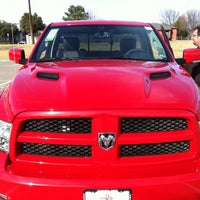 Photo taken at Chrysler Jeep Dodge City of McKinney by Missy R. on 12/15/2012
