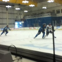Photo taken at Sharks Ice- South Rink by Morgan S. on 9/13/2013