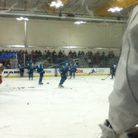 Photo taken at Sharks Ice- South Rink by Morgan S. on 9/14/2013