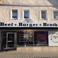Das Foto wurde bei Triple B - Beef Burger Brothers von RickDangerous am 3/17/2014 aufgenommen