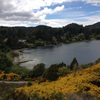Photo taken at Lago Gutiérrez by Filipe M. on 12/4/2012