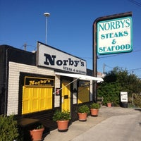 Photo taken at Norby's Steak and Seafood by Tom A. on 10/21/2012
