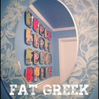 Photo taken at The Fat Greek by Cathy V. on 3/28/2013