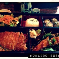 Photo taken at Hokaido Japanese Cuisine by Cathy V. on 2/7/2013