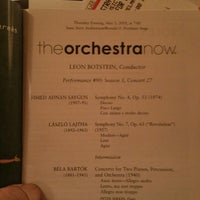Foto scattata a Stern Auditorium / Perelman Stage at Carnegie Hall da Miguel G. il 5/3/2018