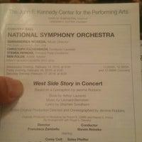 2/18/2018에 Miguel G.님이 Kennedy Center Concert Hall - NSO에서 찍은 사진