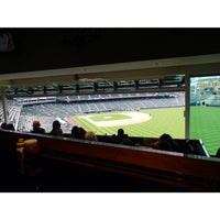 Photo taken at Mountain Ranch Club at Coors Field by Miguel G. on 9/7/2014