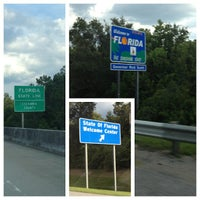 Photo taken at Alabama / Florida State Line by Amy H. on 7/1/2013