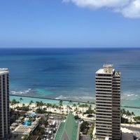 Photo taken at Hilton Waikiki Beach by Amy H. on 4/18/2013