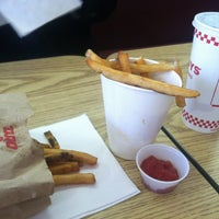 Photo taken at Five Guys by Rachel S. on 2/9/2013
