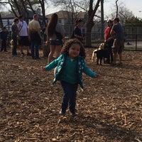 Photo taken at Cunningham Park Dog Run by Yvette M. on 4/13/2014