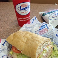 Photo taken at Lenny's Sub Shop by JmMster J. on 1/13/2013