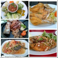 Photo taken at Waterside Resort Restaurant by Narongsak T. on 10/14/2012