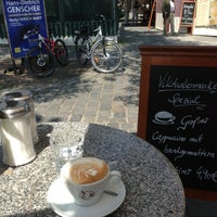 Photo taken at Espresso am Viktualienmarkt by EGON S. on 7/2/2013