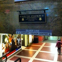 Photo taken at MBTA Red Line by Luís L. on 4/25/2013