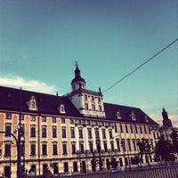 Photo taken at Wrocław by Luís L. on 6/8/2013