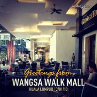 Photo taken at Wangsa Walk Mall by Mohamad F. on 1/13/2013