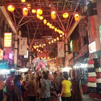 Photo taken at Petaling Street (Chinatown) by chief i. on 6/22/2013