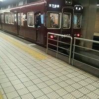 Photo taken at Sakaisuji-Hommachi Station by Hiroaki S. on 11/11/2012