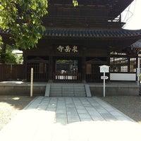 Foto scattata a Sengakuji Temple da Yk Y. il 9/16/2012