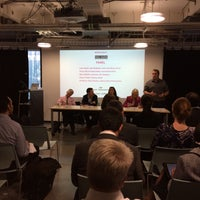 Photo taken at Impact Hub Westminster by Justin G. on 6/3/2015