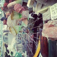 Photo taken at Philadelphia's Magic Gardens by Laura K. on 9/14/2012