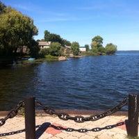 Photo taken at Ostashkov Pier by Kseniia I. on 8/20/2015
