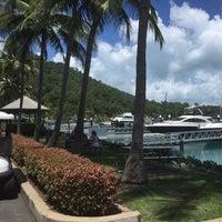 Photo taken at Hamilton Island Marina by Nao on 2/27/2017