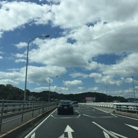 Photo taken at 神島橋 by Nao on 9/20/2015