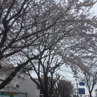 Photo taken at 瀬谷中学校前 交差点 by Nao on 4/8/2017