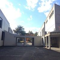 Photo taken at 早稲田大学本庄高等学院 by Kasumi H. on 11/20/2013