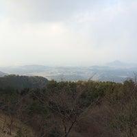 Photo taken at こんぜ山頂上 by yukino112 on 12/30/2014
