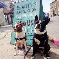 Photo taken at Beauty's Bagel Shop by Kira on 3/16/2013