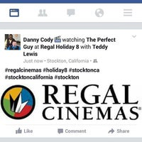 Photo taken at Regal Cinemas Stockton Holiday 8 by Danny C. on 10/7/2015