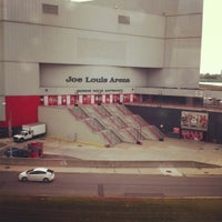 Photo taken at Joe Louis Arena by Huong F. on 10/5/2012