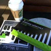 Photo taken at Starbucks by Huong F. on 3/18/2014