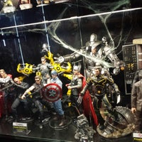Photo taken at Heroes Hobby Lounge By Maxicollector by Christine A. on 10/28/2013