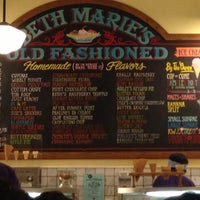 Photo taken at Beth Marie's Old Fashioned Ice Cream & Soda Fountain by Tammi on 4/29/2013
