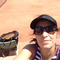 Photo taken at Centre Municipal de Tennis Vall d'Hebron by Lswitch on 5/23/2015