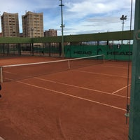 Photo taken at Centre Municipal de Tennis Vall d'Hebron by Lswitch on 1/9/2016